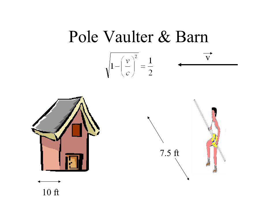 Pole Vaulter & Barn v 7.5 ft 10 ft
