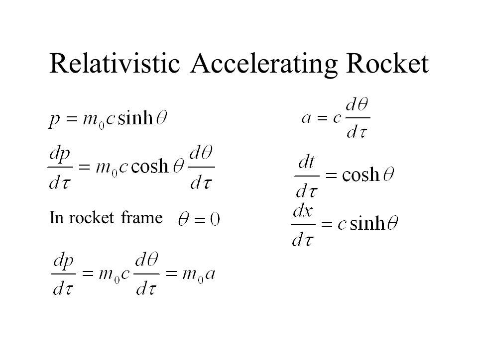 Relativistic Accelerating Rocket