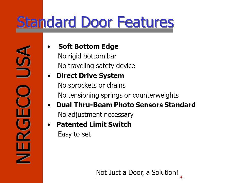 Standard Door Features