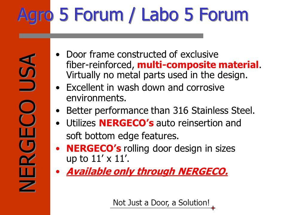 Agro 5 Forum / Labo 5 Forum