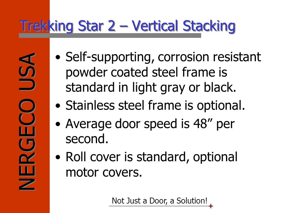 Trekking Star 2 – Vertical Stacking