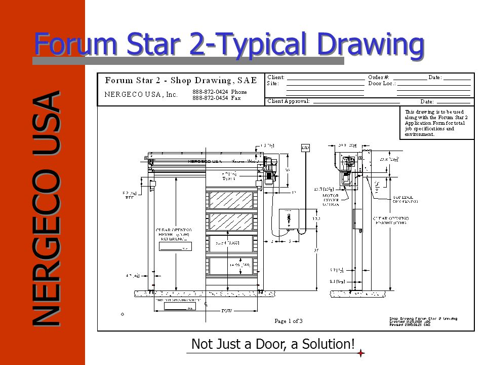 Forum Star 2-Typical Drawing