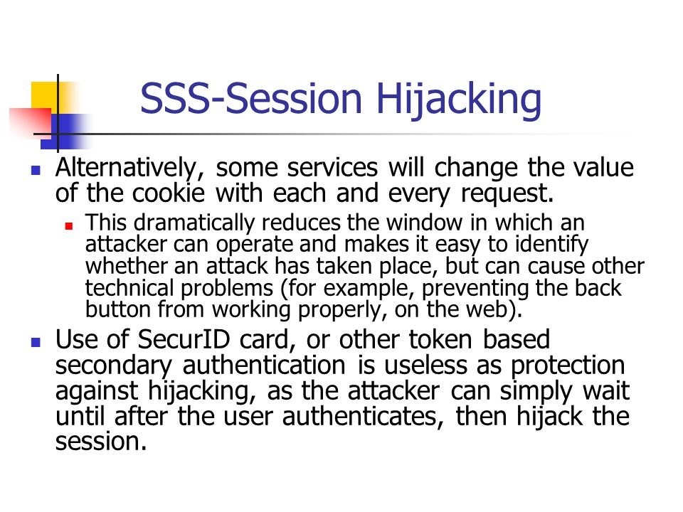 SSS-Session Hijacking