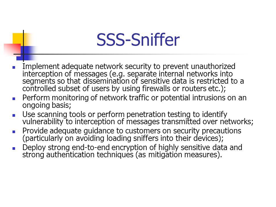 SSS-Sniffer