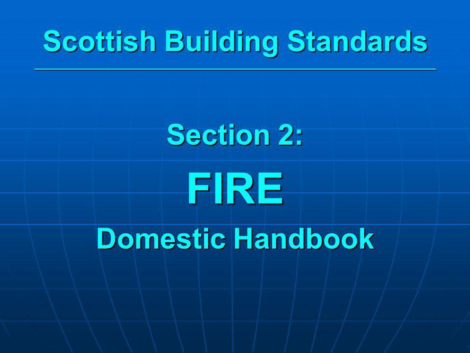 Scottish Building Standards _____________________________________________________________________
