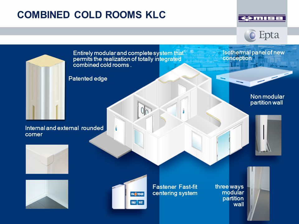 COMBINED COLD ROOMS KLC