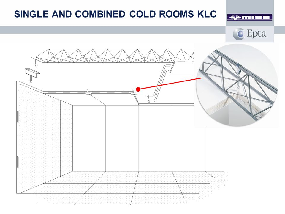 SINGLE AND COMBINED COLD ROOMS KLC