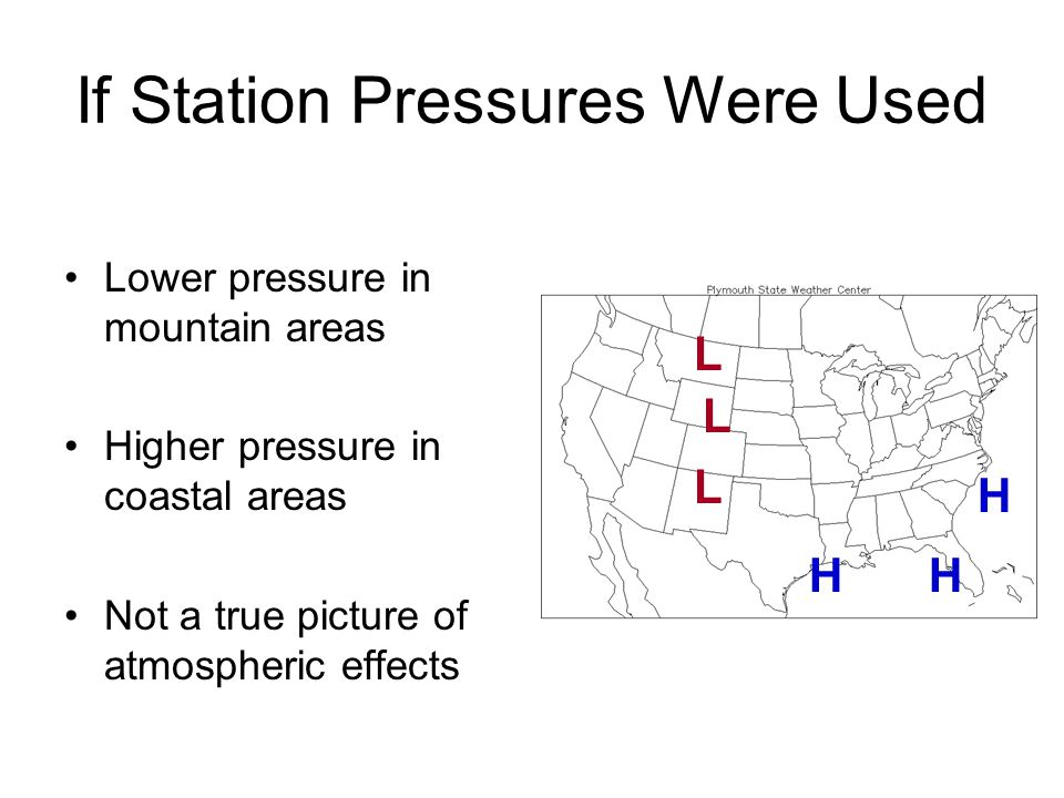 If Station Pressures Were Used