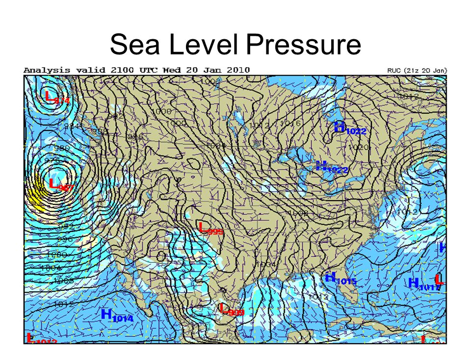 Sea Level Pressure