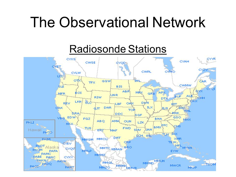 The Observational Network