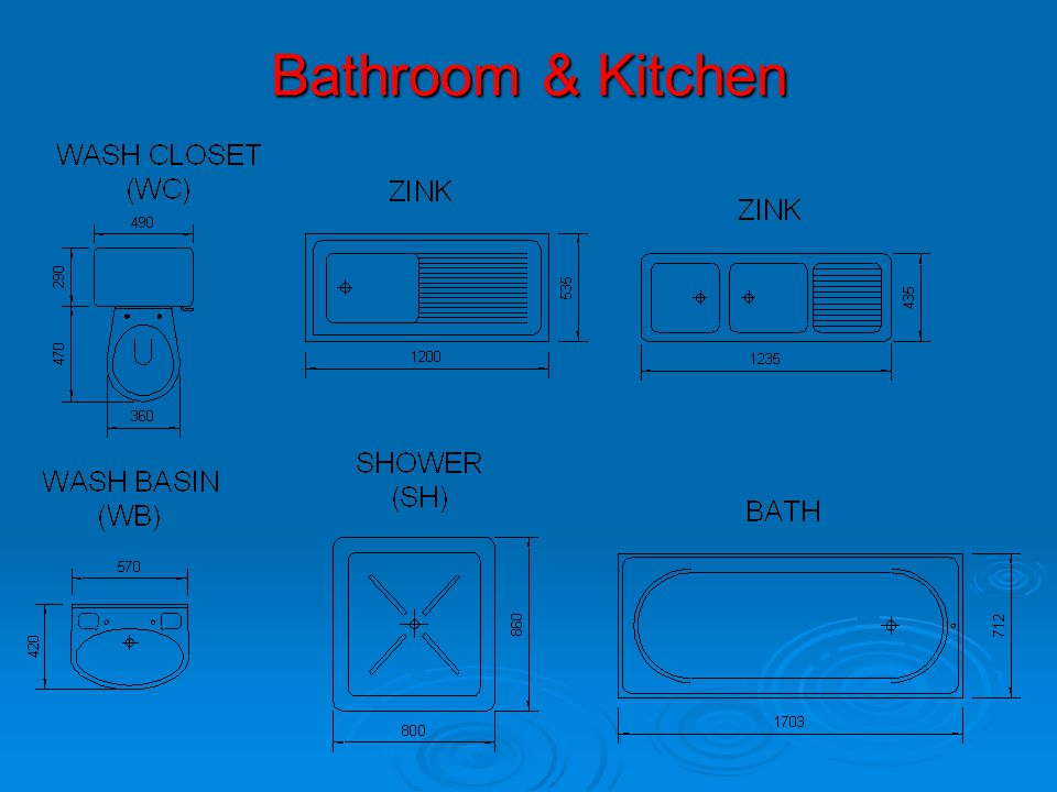 Bathroom & Kitchen