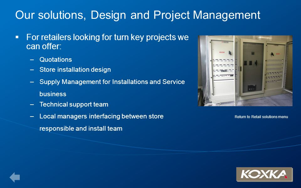Our solutions, Design and Project Management