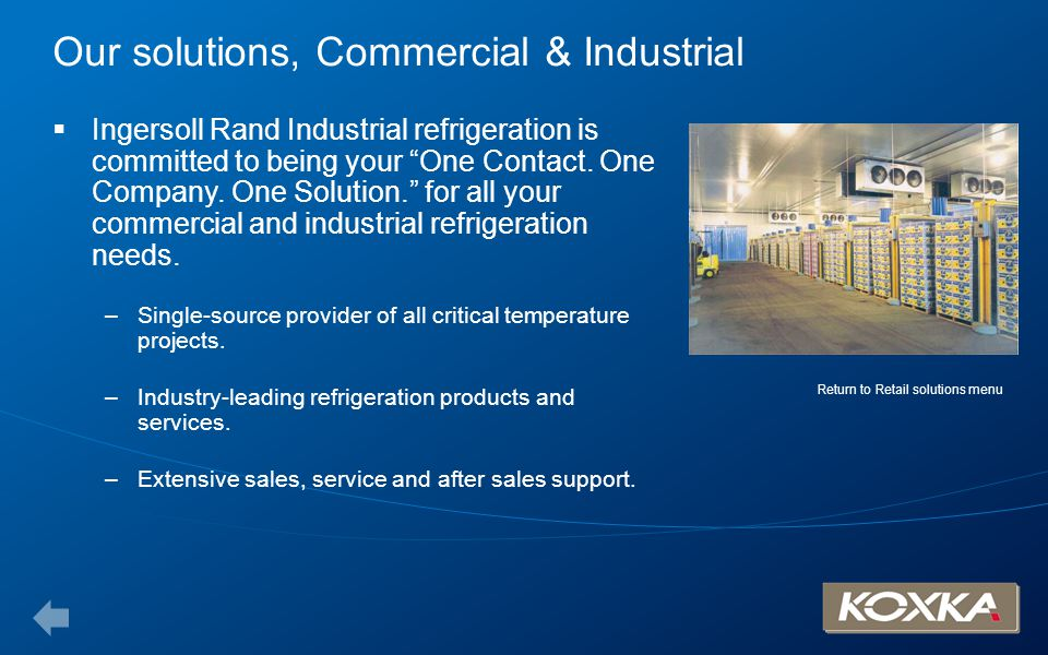 Our solutions, Commercial & Industrial