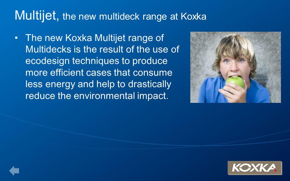 Multijet, the new multideck range at Koxka