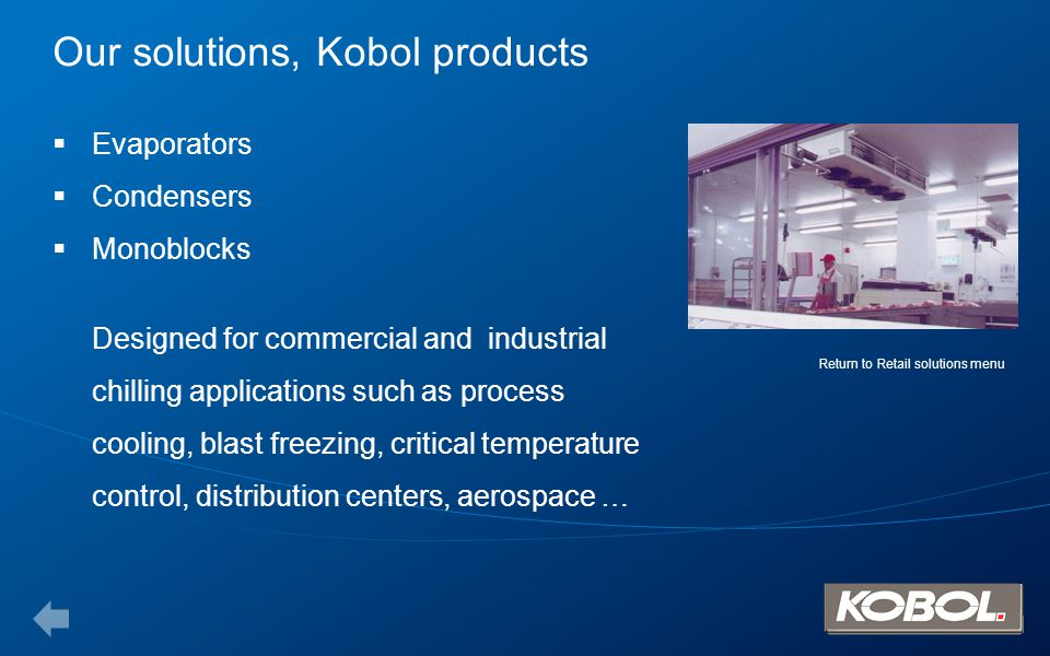 Our solutions, Kobol products