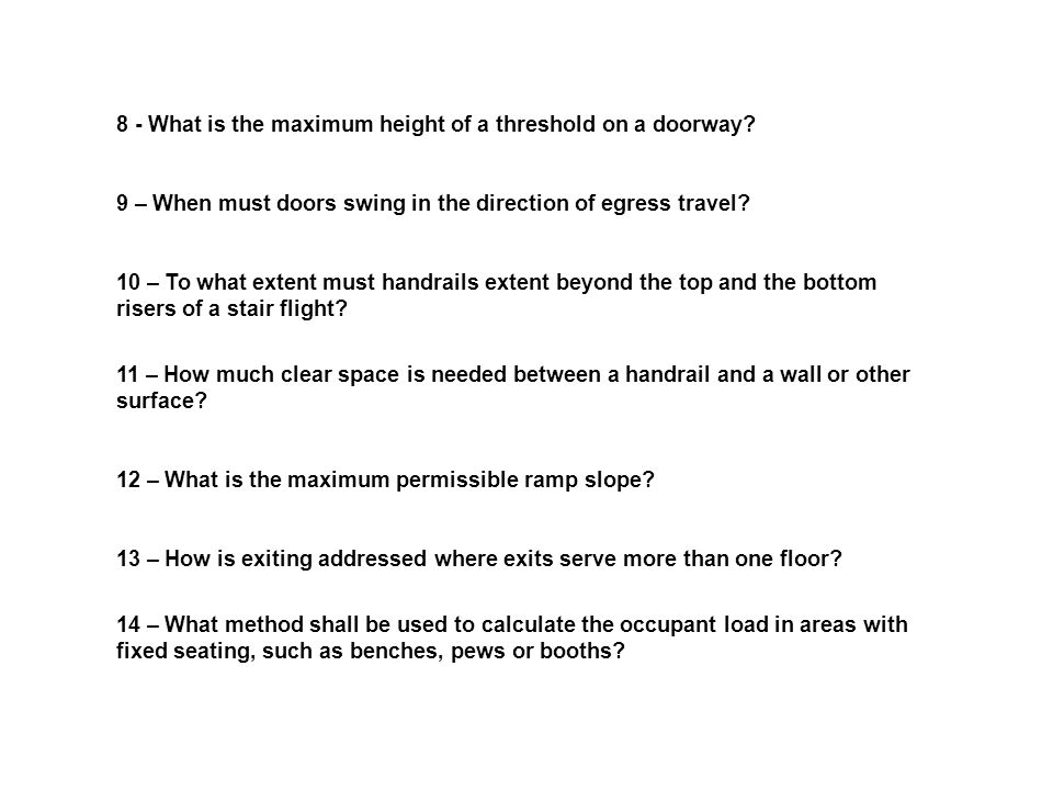 7 Means Of Egress Life Safety Code Ppt Video Online