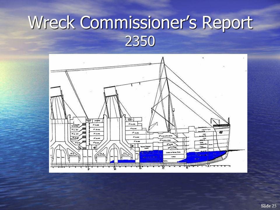Wreck Commissioner's Report 2350