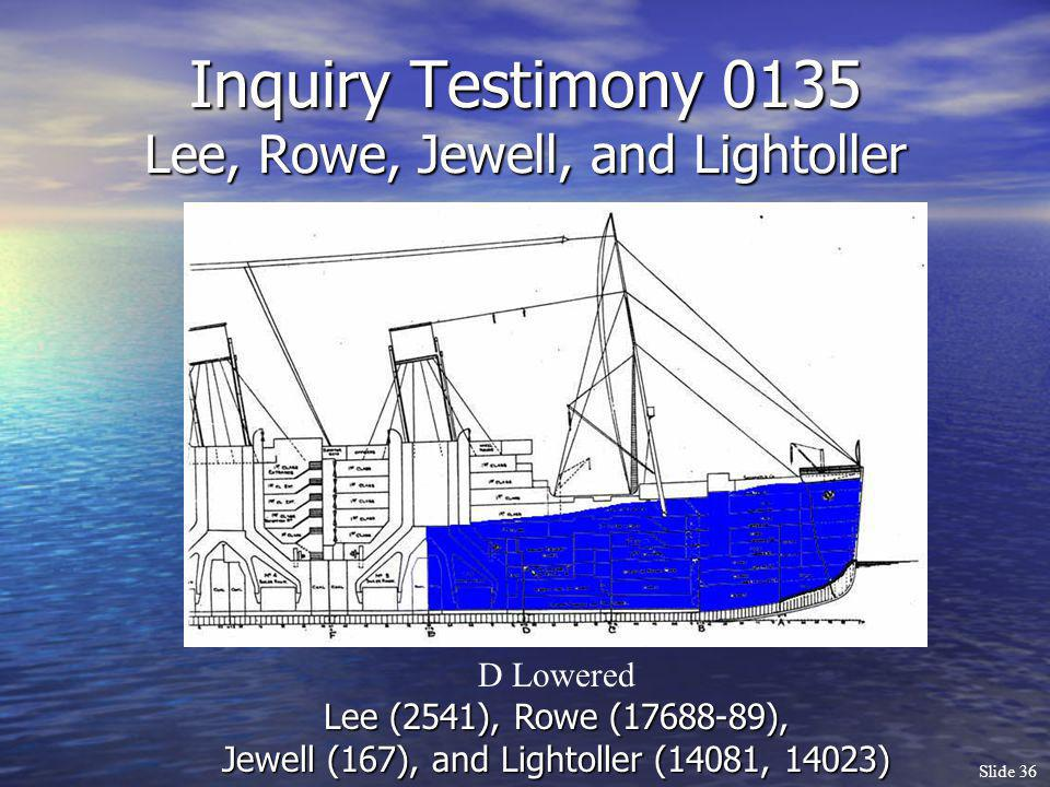 Inquiry Testimony 0135 Lee, Rowe, Jewell, and Lightoller