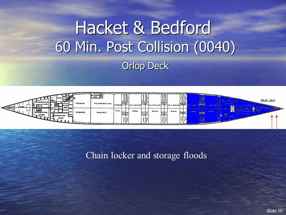 Hacket & Bedford 60 Min. Post Collision (0040) Orlop Deck