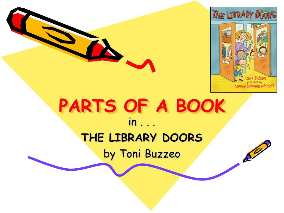 in . . . THE LIBRARY DOORS by Toni Buzzeo