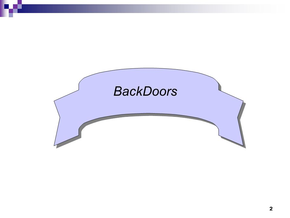 BackDoors