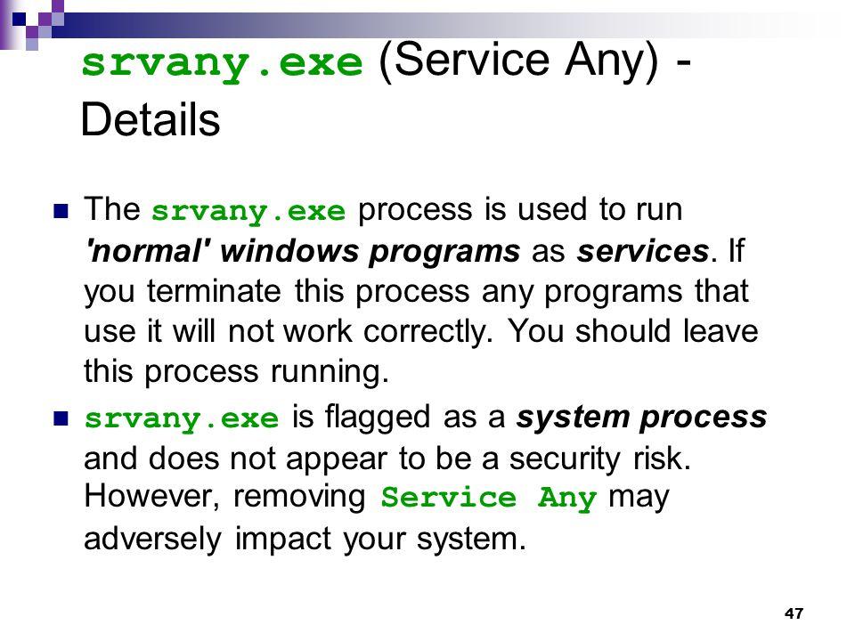 srvany.exe (Service Any) - Details