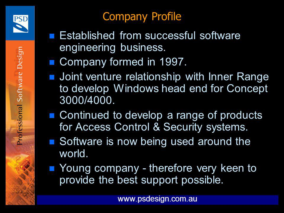 Established from successful software engineering business.