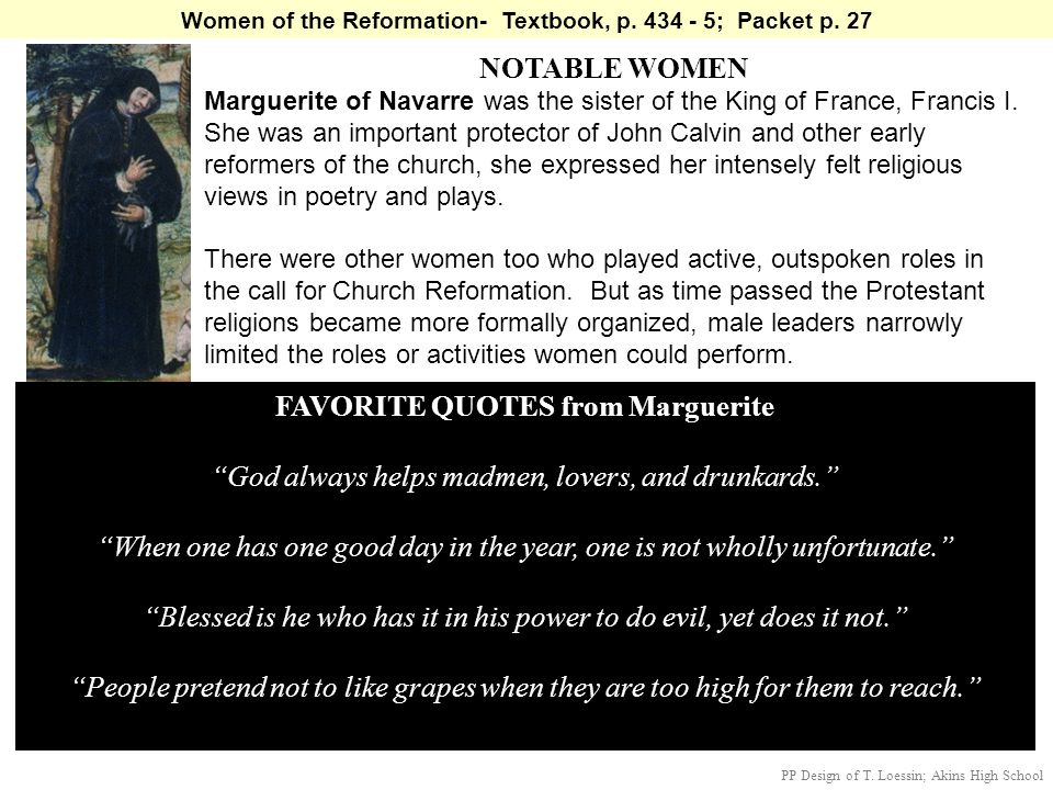 NOTABLE WOMEN FAVORITE QUOTES from Marguerite