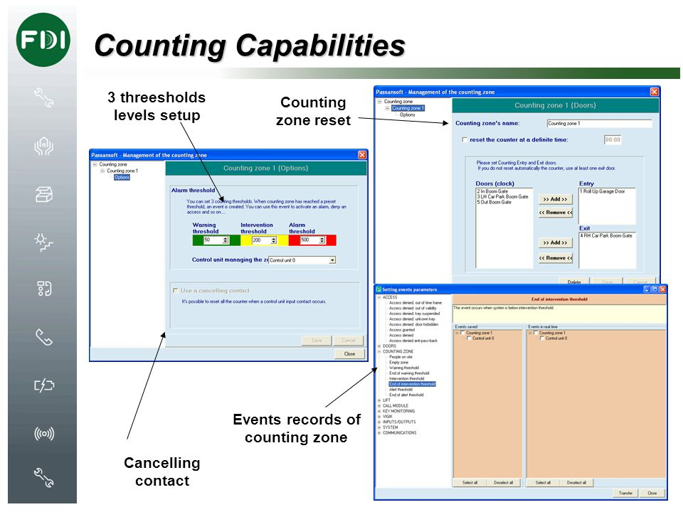 Counting Capabilities