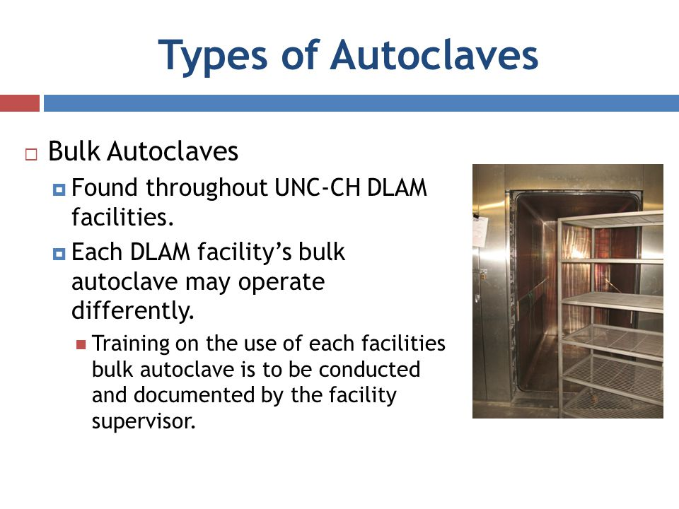 Types of Autoclaves Bulk Autoclaves