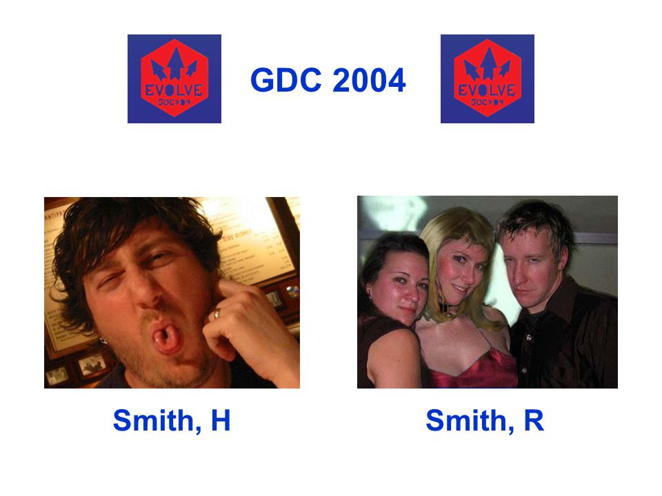 GDC 2004 Smith, H Smith, R