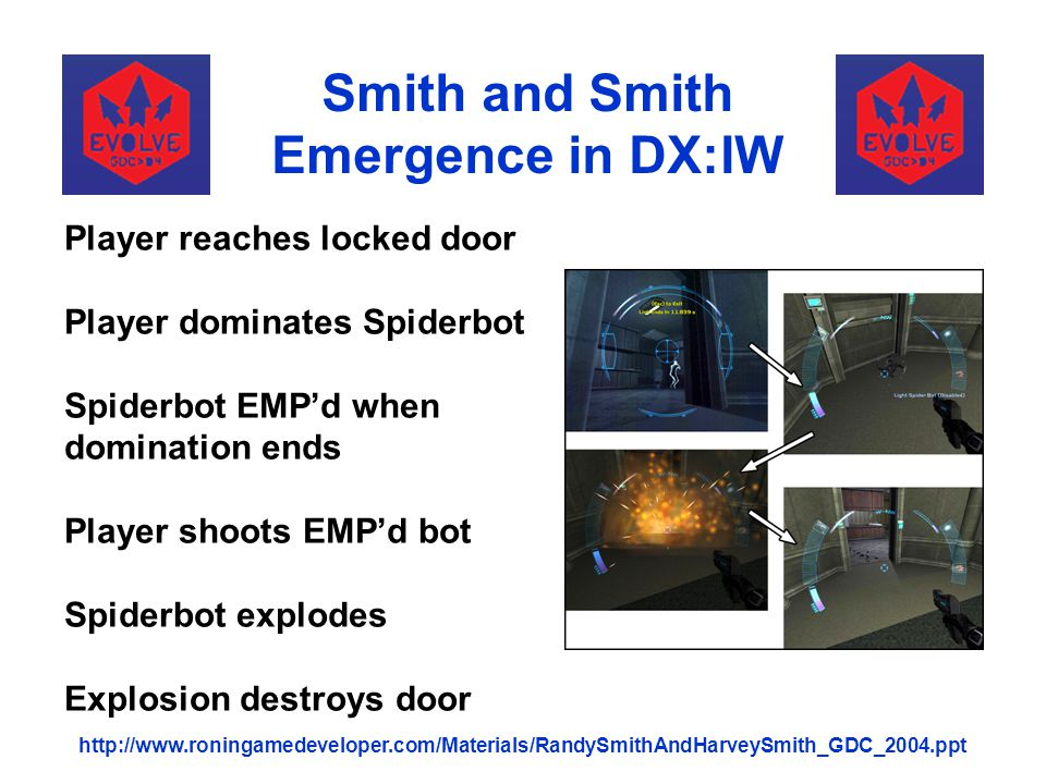 Smith and Smith Emergence in DX:IW