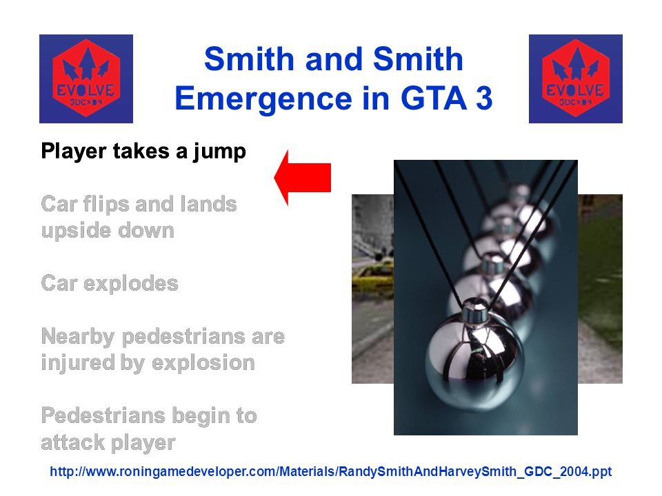 Smith and Smith Emergence in GTA 3