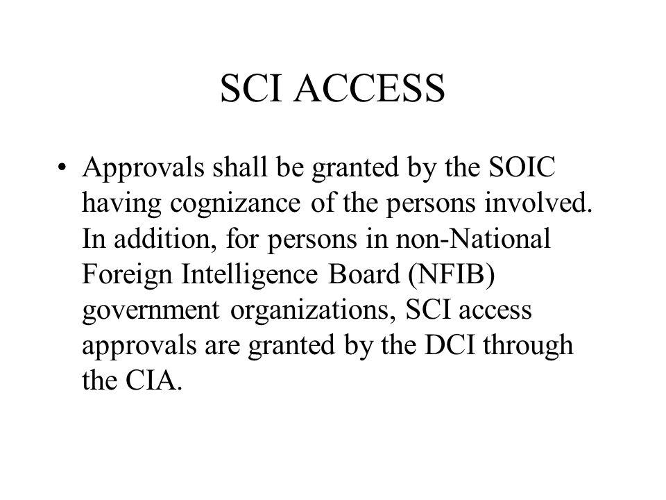SCI ACCESS