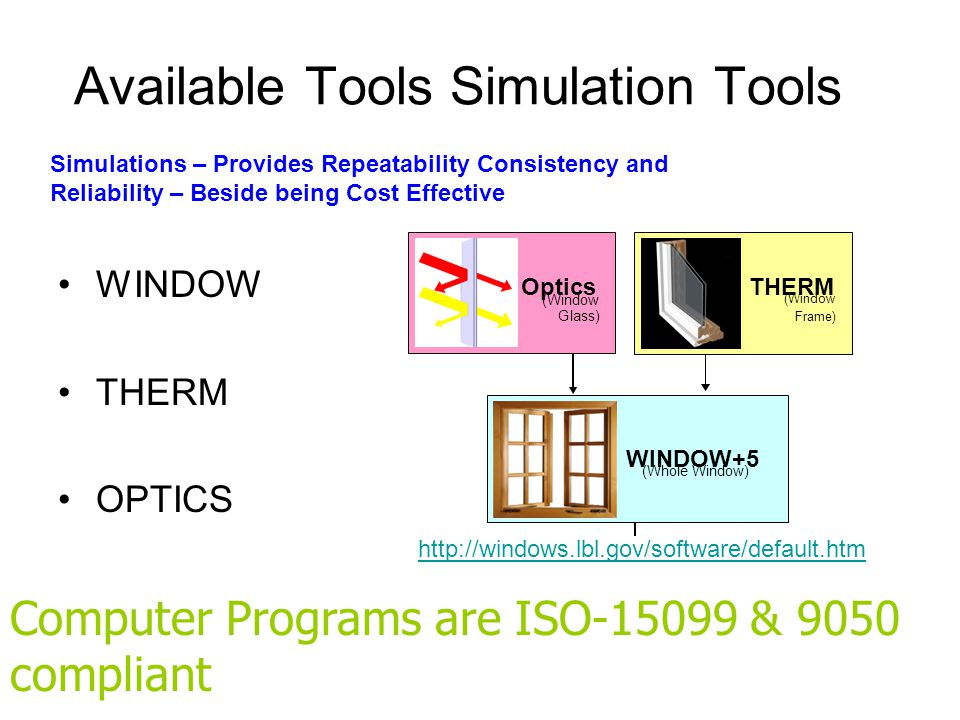 Available Tools Simulation Tools