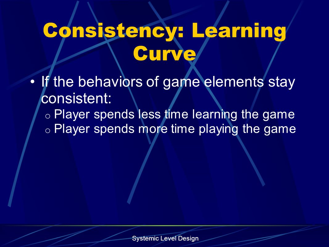 Consistency: Learning Curve