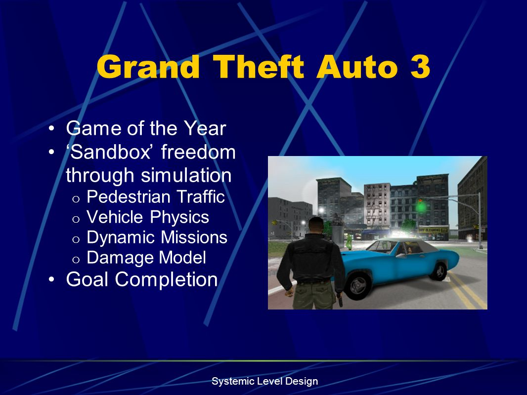 Grand Theft Auto 3 Game of the Year
