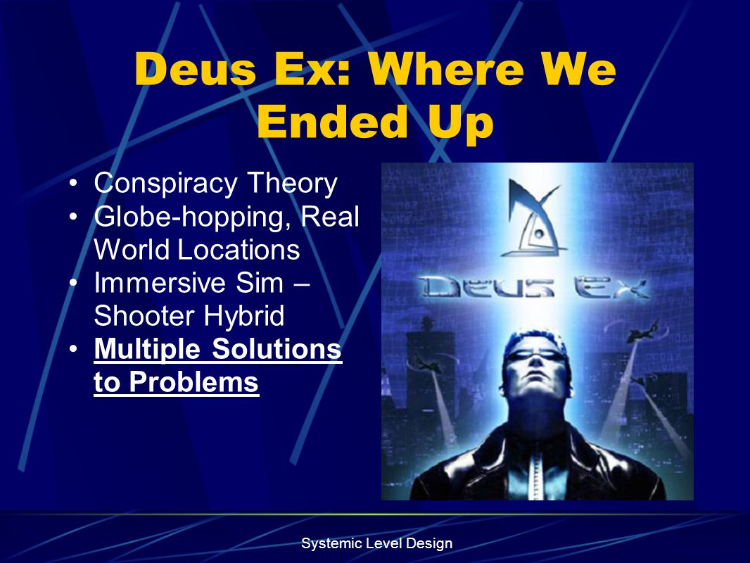 Deus Ex: Where We Ended Up