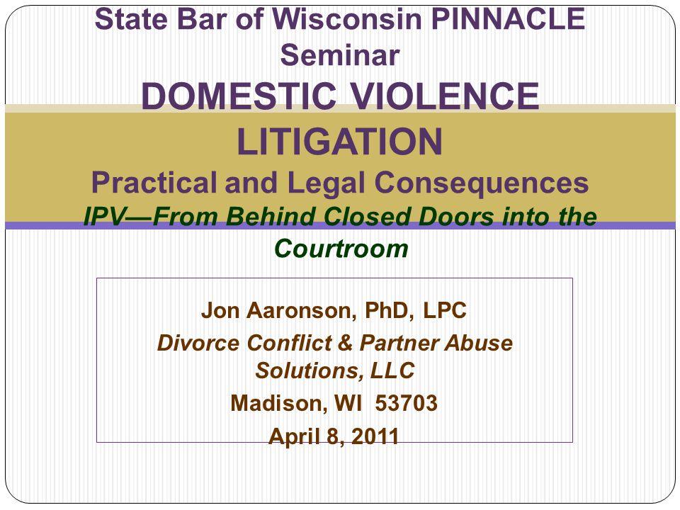 Divorce Conflict & Partner Abuse Solutions, LLC