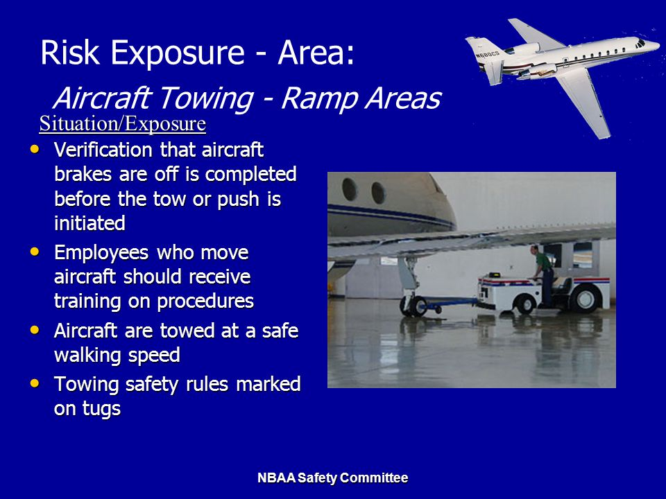 Risk Exposure - Area: Aircraft Towing - Ramp Areas