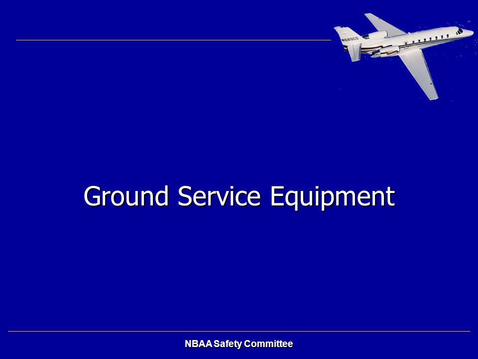 Ground Service Equipment