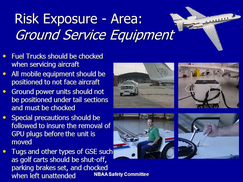 Risk Exposure - Area: Ground Service Equipment