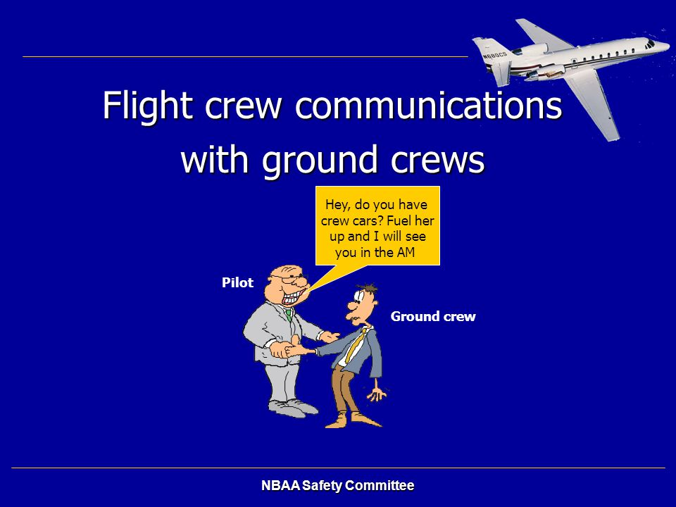 Flight crew communications