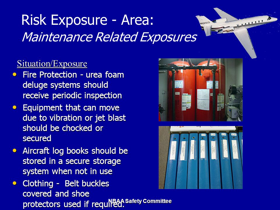 Maintenance Related Exposures
