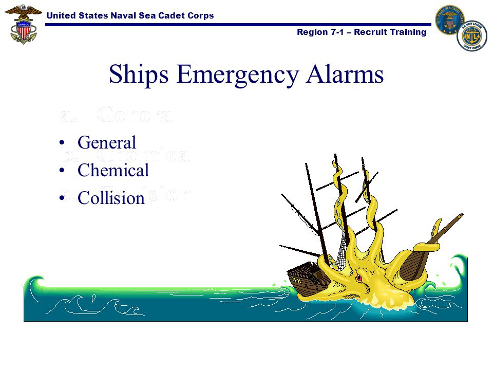 Ships Emergency Alarms