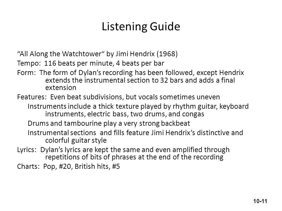 Listening Guide