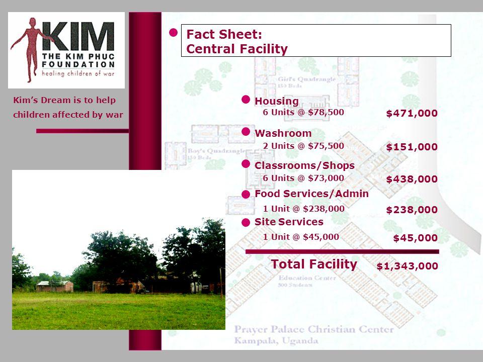 Fact Sheet: Central Facility