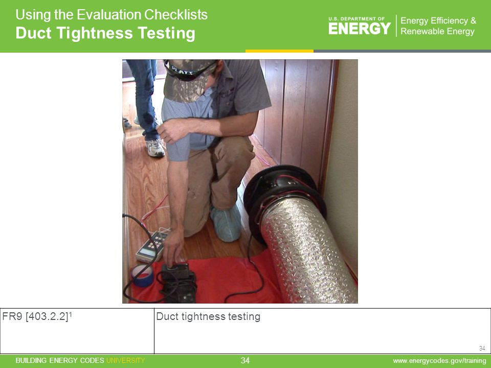 Duct Tightness Testing