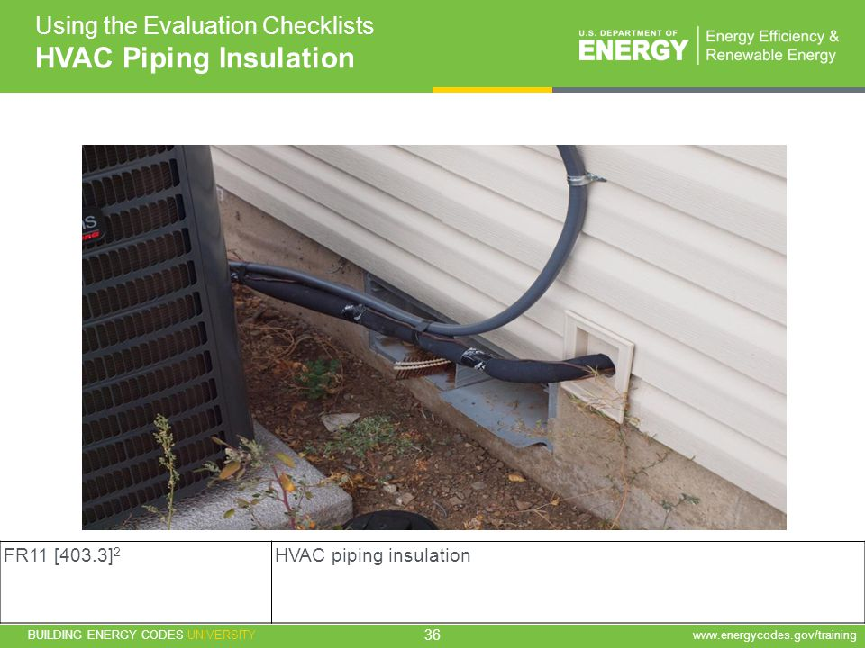 HVAC Piping Insulation
