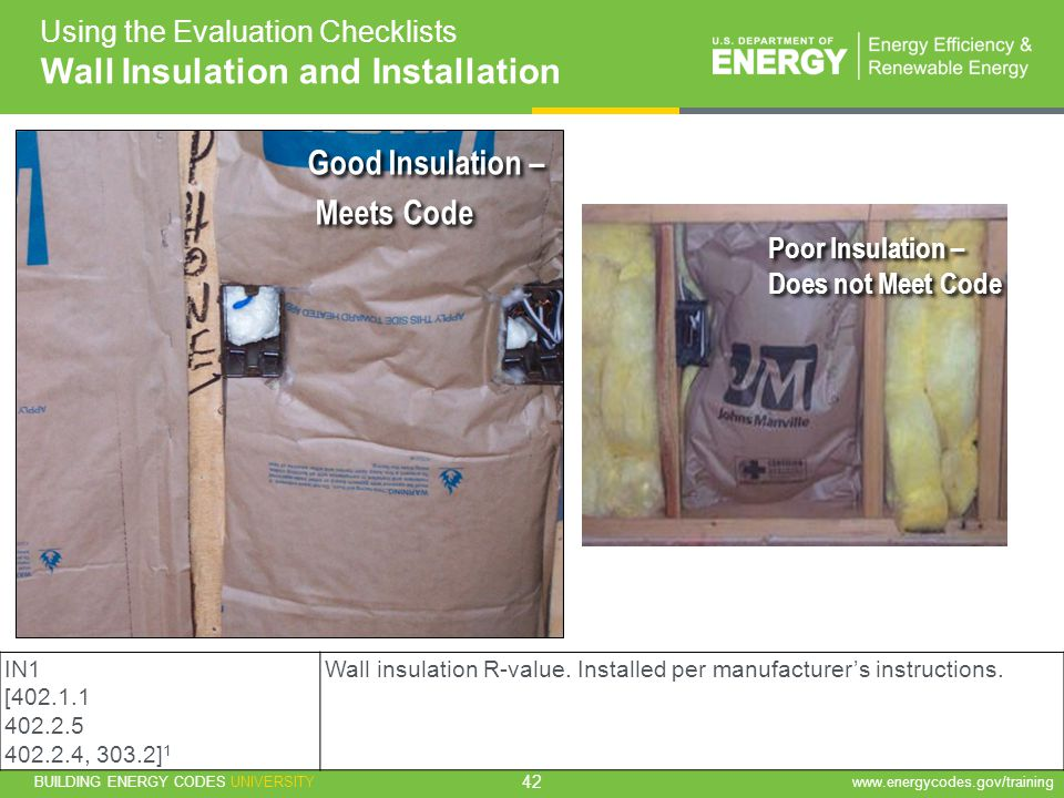 Wall Insulation and Installation
